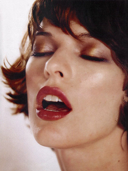 Milla Jovovich Colourised